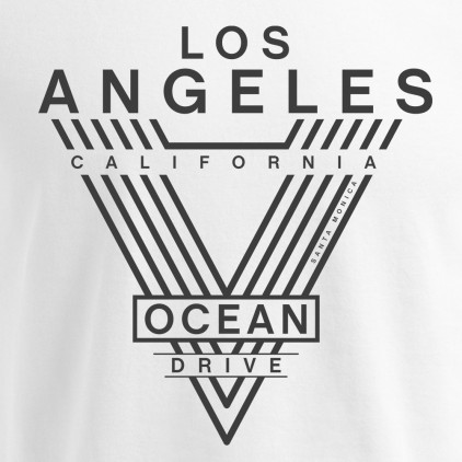 "Print ""LA-Ocean Drive"" - Premium T-Shirt Herren Plus Size"