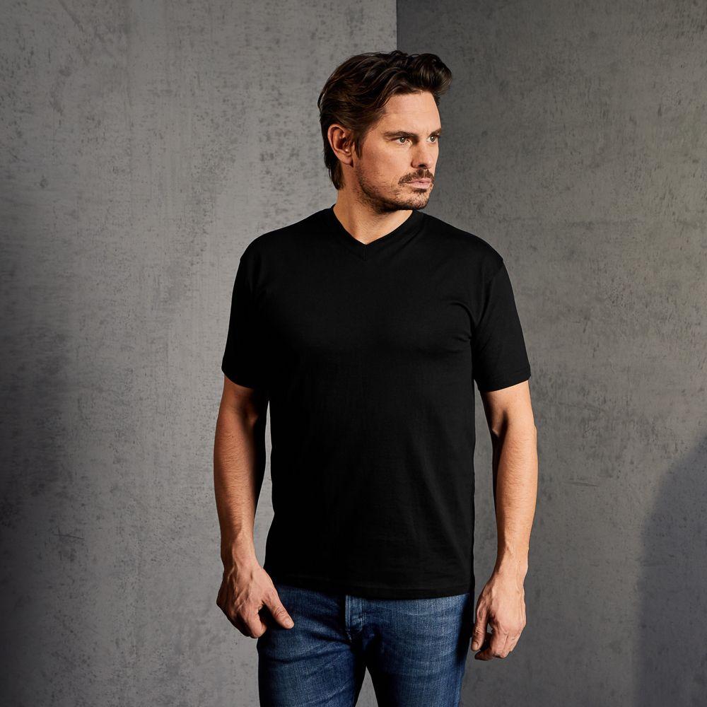 premium v neck t shirts f r herren in vielen gr e farben. Black Bedroom Furniture Sets. Home Design Ideas