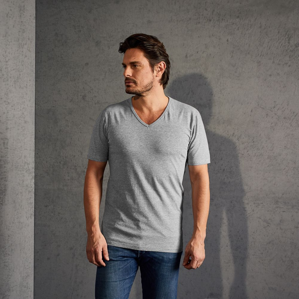 V-neck T-shirt for Men | Slim Fit | promodoro