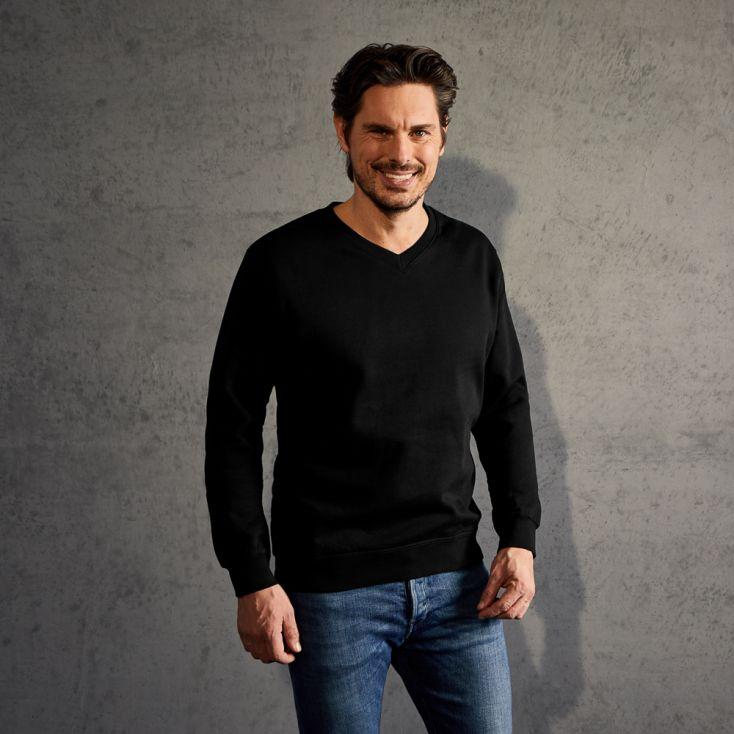 Premium V-Neck Sweatshirt Men