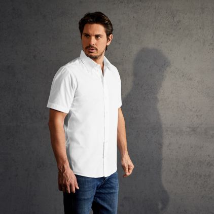 Chemise Business manches courtes Hommes