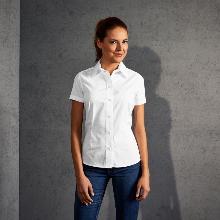 Business Shortsleeve blouse Women
