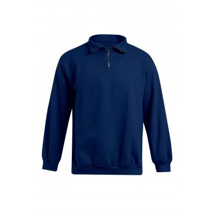 Troyer Sweatshirt Workwear Plus Size Herren