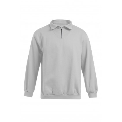 Troyer Sweatshirt Workwear Plus Size Men