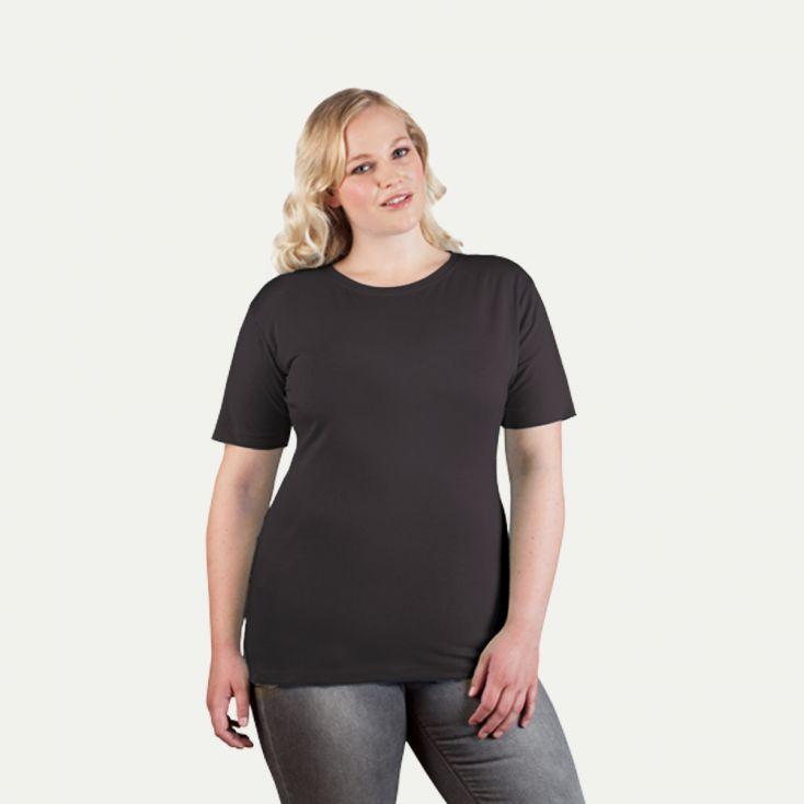 Premium T-Shirt Workwear Plus Size Damen