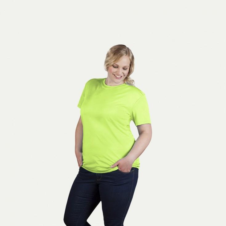 UV-Performance T-Shirt Workwear Plus Size Damen