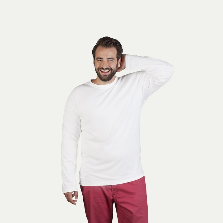 T-shirt Premium manches longues workwear grande taille Hommes