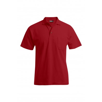 Heavy Polo shirt pocket Workwear Plus Size Men