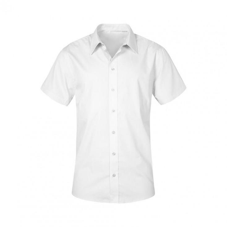 Business Kurzarm-Hemd Workwear Plus Size Herren