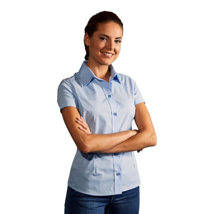 Chemise Business manches courtes workwear Femmes