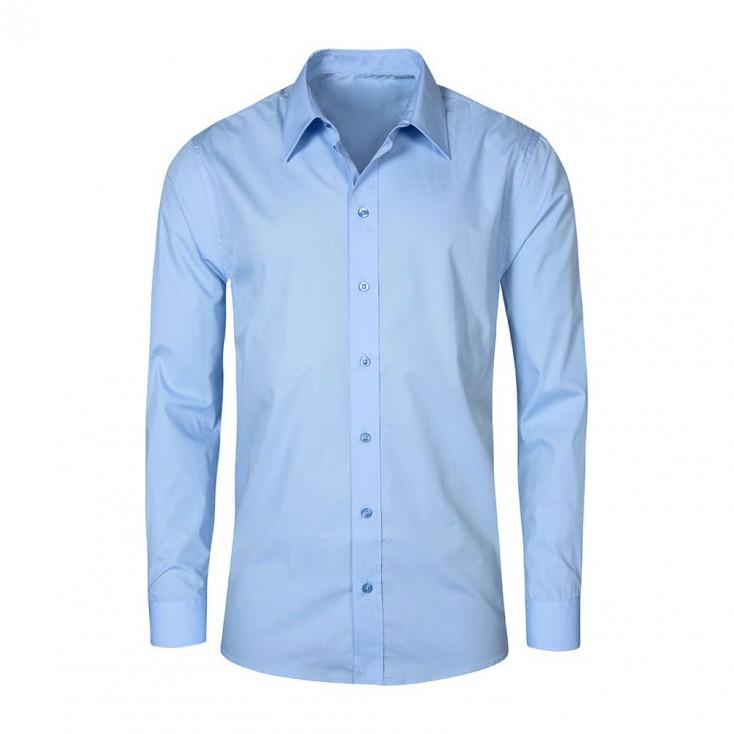Business Langarm-Hemd Workwear Plus Size Herren