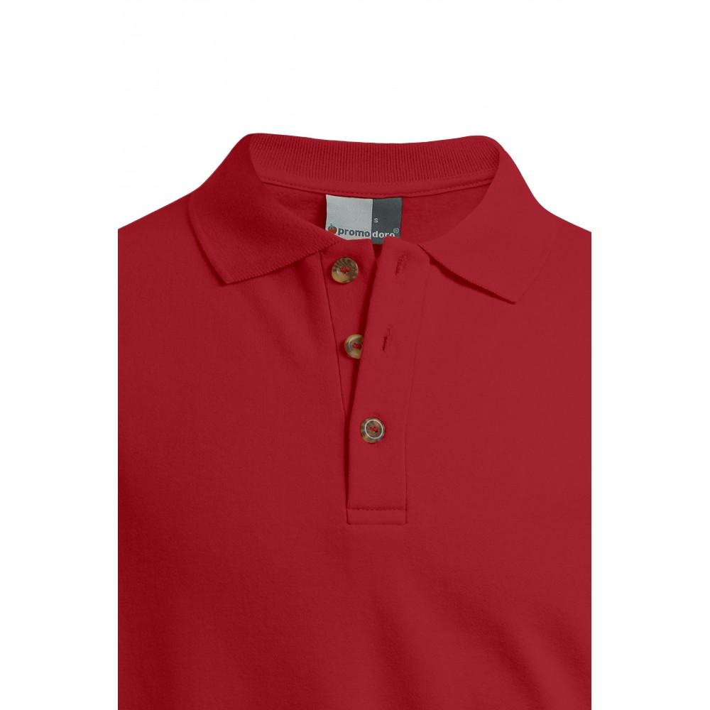 Hommes Polo Sweat Manches Longues Tailles Workwear Grandes sQhCtrd