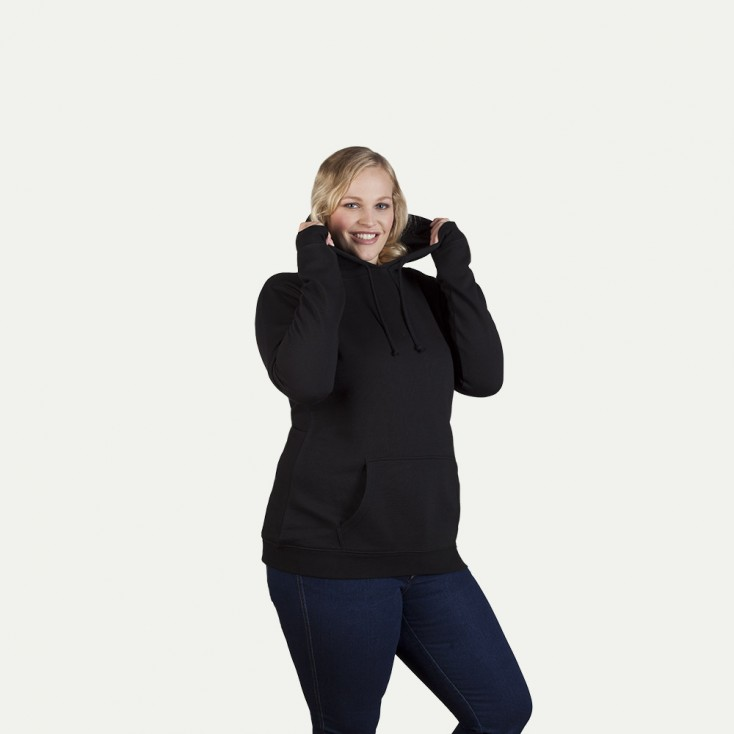Sweat capuche basic 80-20 workwear grande taille Femmes
