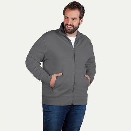 Stehkragen Zip Jacke Workwear Plus Size Herren