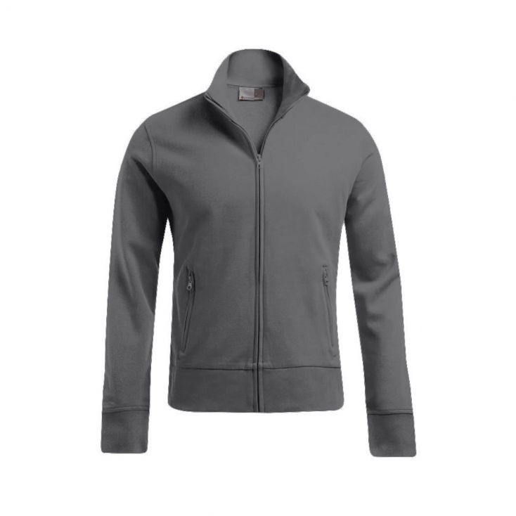 Stand-Up Collar Jacket Workwear Plus Size Men