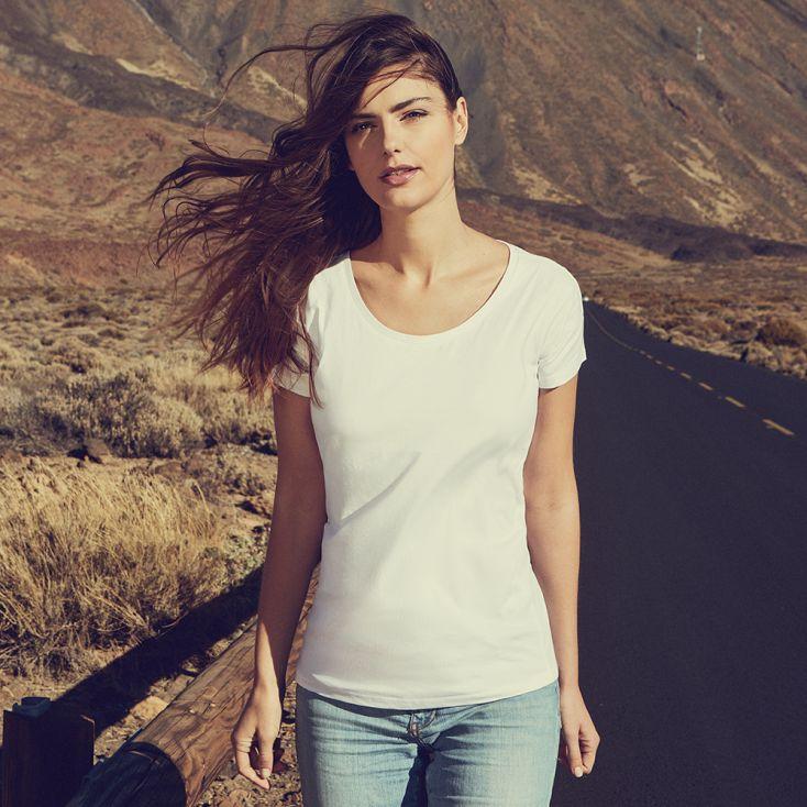 T-shirt large Femmes