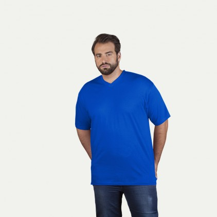T-shirt Premium col V workwear grandes tailles Hommes