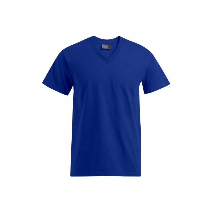 T-shirt Premium col V workwear grande taille Hommes