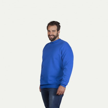 Unisex Interlock Sweatshirt Workwear Plus Size Men and Women