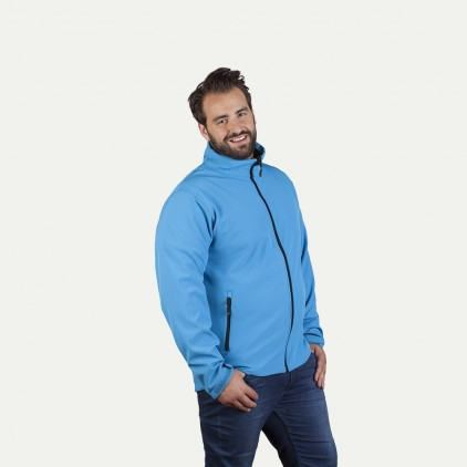 Softshell Jacke C+ Workwear Plus Size Herren