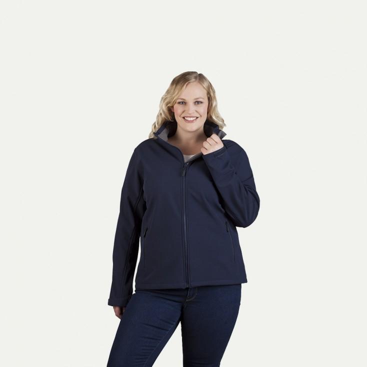 Softshell Jacke C+ Workwear Plus Size Damen