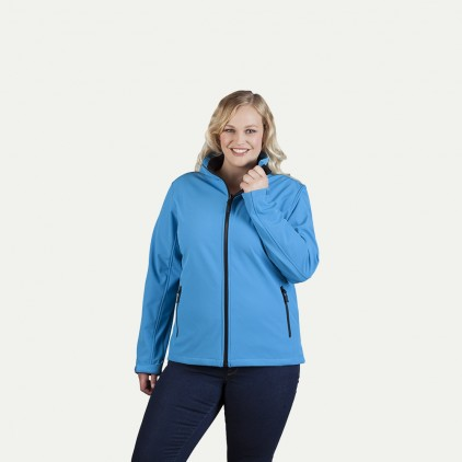 Softshell Jacke C+ Workwear Plus Size Damen