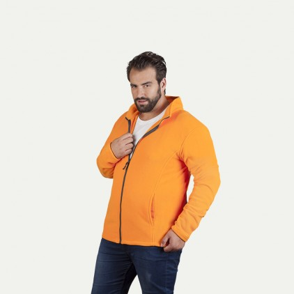 Fleece Jacket C+ Workwear Plus Size Men
