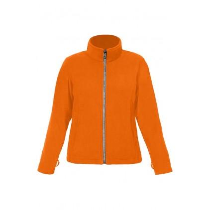 Leichte Fleece Jacke C+ Workwear Plus Size Damen