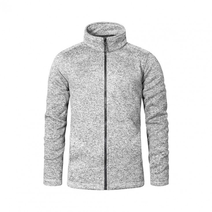 Strick-Fleece Jacke C+ Wokwear Plus Size Herren