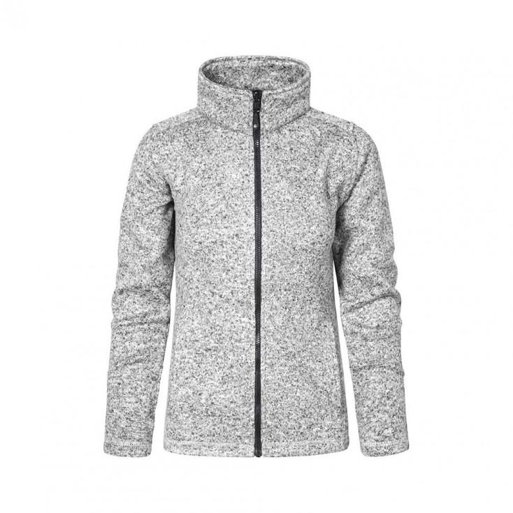 Knit fleece Jacket C+ Workwear Plus Size Women