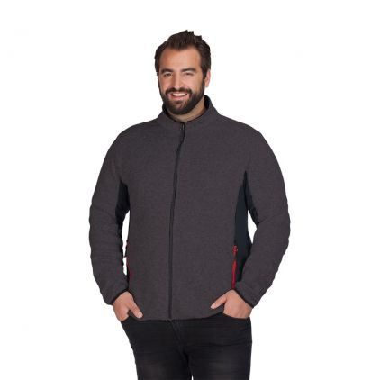 Knit Jacket Workwear Plus Size Men