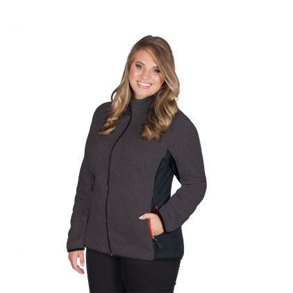 Knit Jacket Workwear Plus Size Women