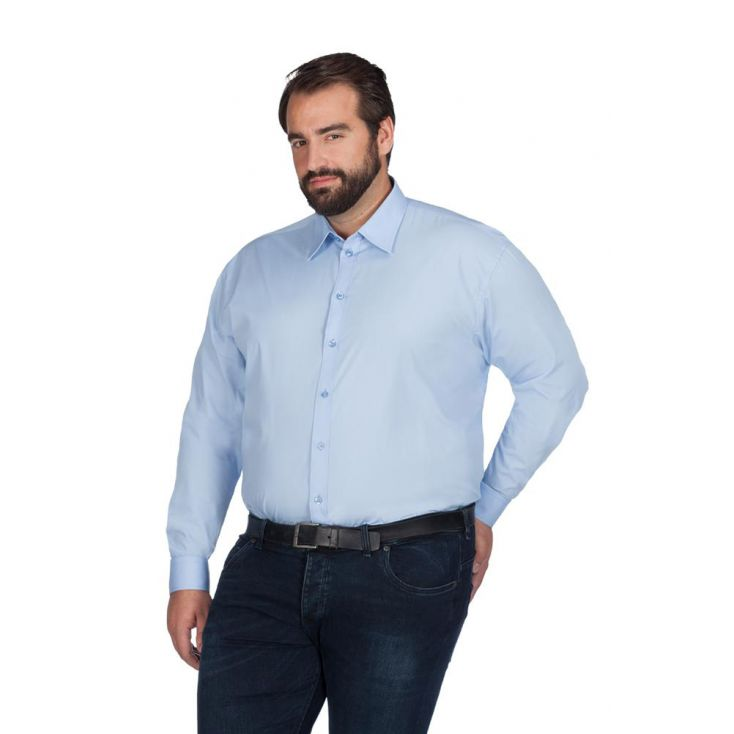 Chemise Business manches longues grande taille Hommes