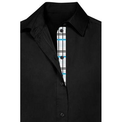 "Business Longsleeve blouse ""Graphic"" 411 Plus Size Women"