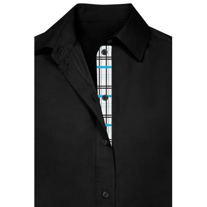 "Chemise Business manches longues ""Graphic"" 411 grandes tailles Femmes"