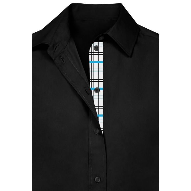 "Chemise Business manches longues ""Graphic"" 411 grande taille Femmes"