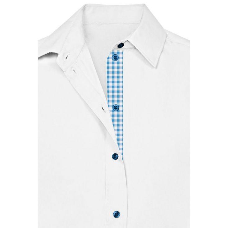 "Business Longsleeve shirt ""Graphic"" 407LU Plus Size Men"