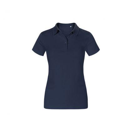 Jersey Poloshirt Workwear Plus Size Damen