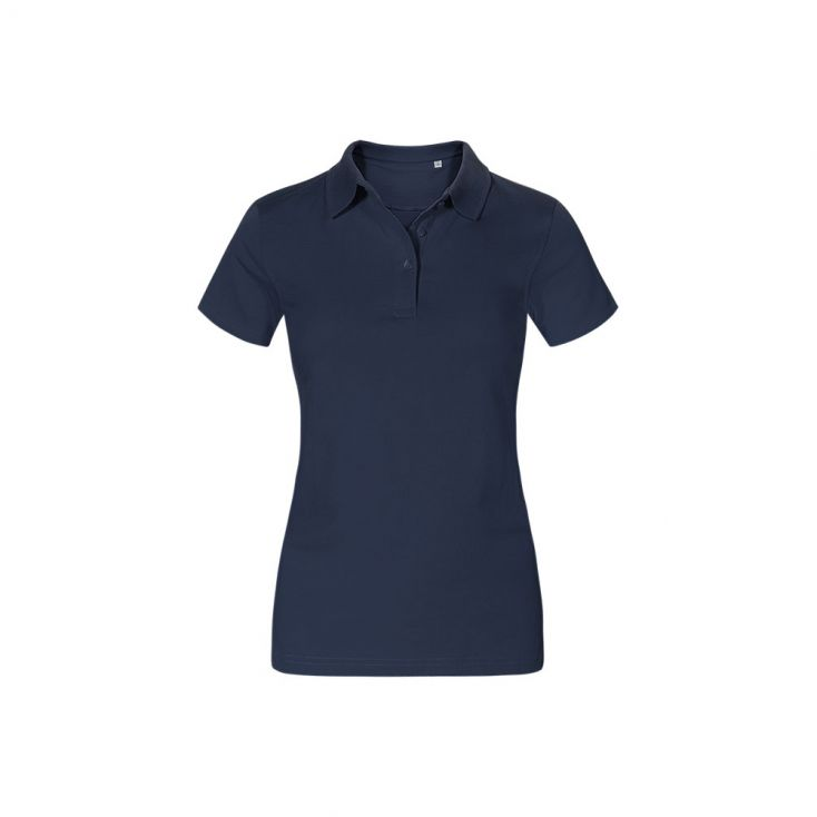 Jersey Polo shirt Workwear Plus Size Women