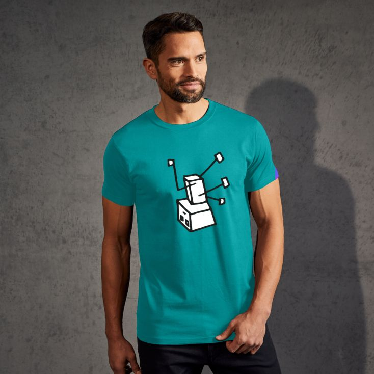 "Print ""Breakdance Robot"" - T-shirt Premium Hommes"