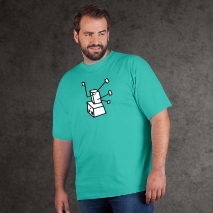 """Print """"Breakdance Robot"""" - Herren Premium T-Shirt"""