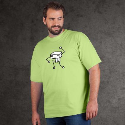 "Print ""Pantomime Robot""- Herren Premium T-Shirt Plus Size"