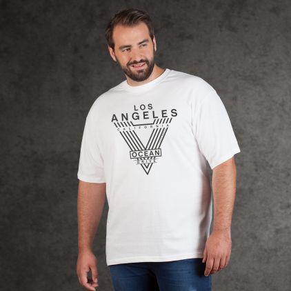 """Print """"LA-Ocean Drive"""" - T-shirt Premium homme grande taille"""