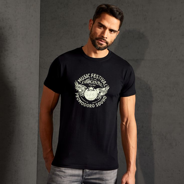 """Print """"promodoro sound"""" T-shirt premium Hommes"""