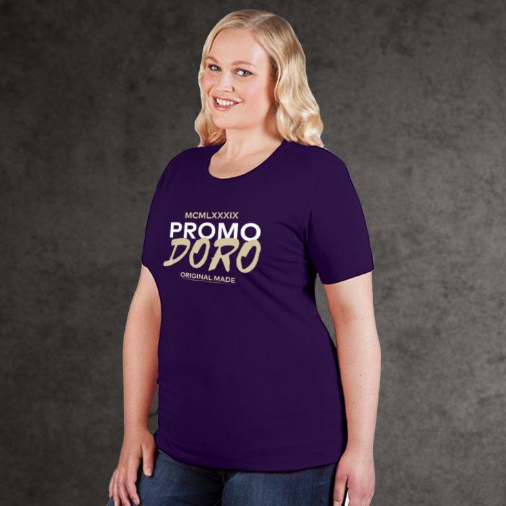 "Print ""promodoro original made"" T-shirt Bio grandes tailles Femmes"