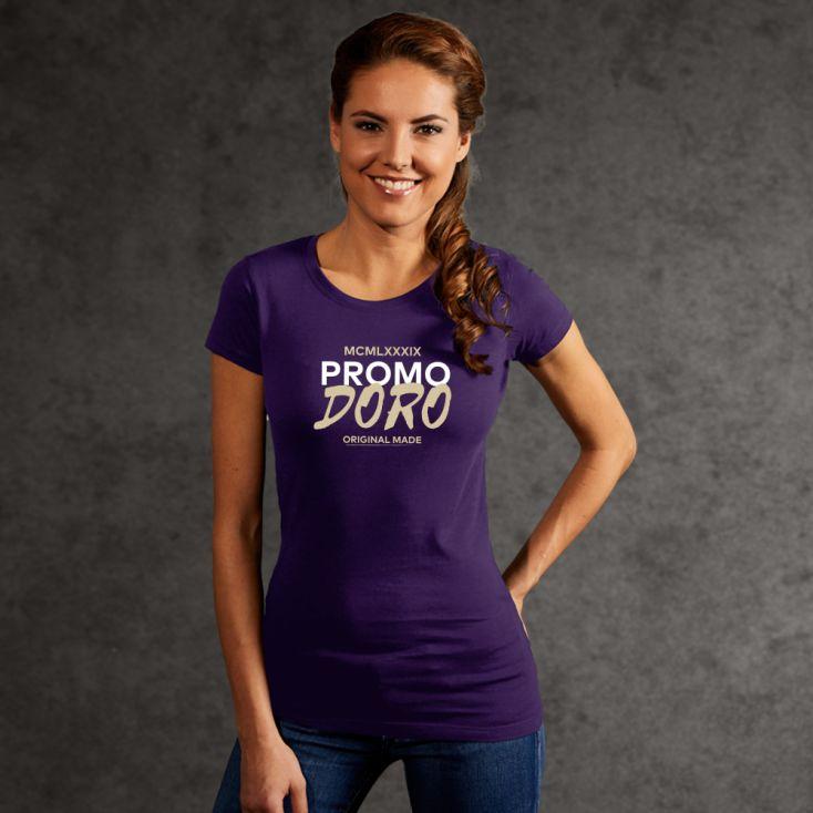 "Print ""promodoro original made"" Bio T-Shirt Damen"