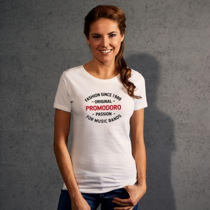 "Print ""promodoro passion"" Premium T-Shirt Damen"