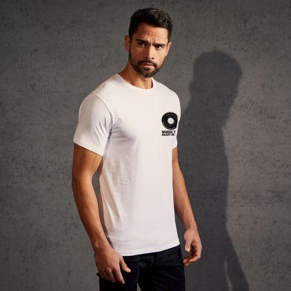 "Print ""promodoro heart beats"" T-shirt premium Hommes"