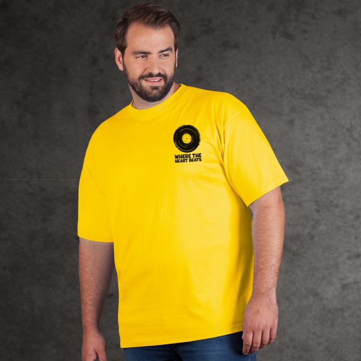 "Print ""promodoro heart beats"" premium t-shirt Plus Size Men"