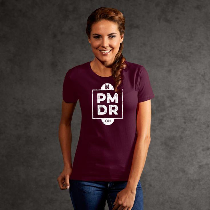 "Print ""promodoro rock on"" Premium T-Shirt Damen"